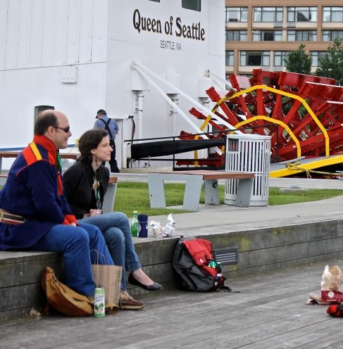 Hanging out at Lake Union.